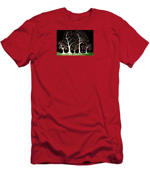 The Valentine Forest Men's T-Shirt (Athletic Fit)