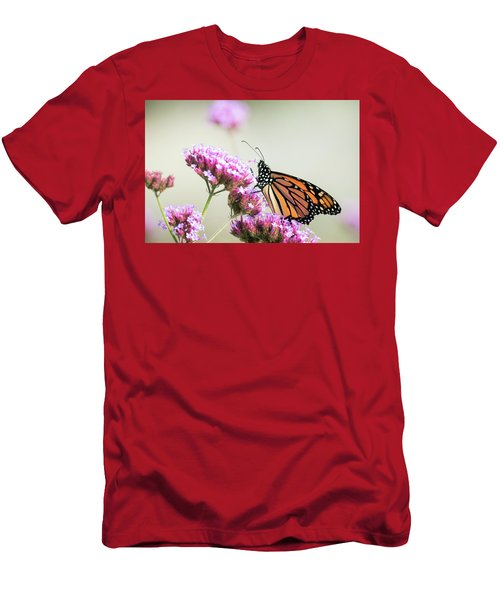 Men's T-Shirt (Athletic Fit) featuring the photograph Picking Flowers 2 by Brian Hale