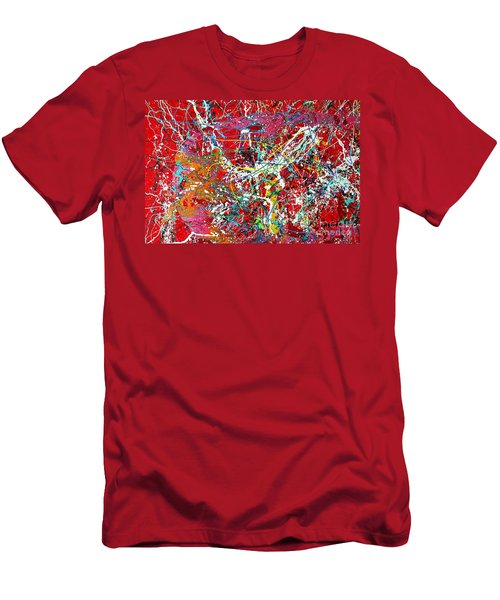 Pictographic Interpretation Men's T-Shirt (Athletic Fit)