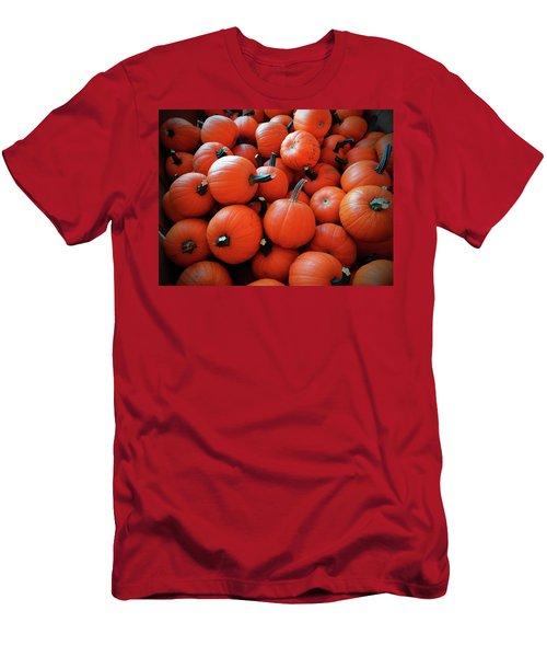 Pile Of Pumpkins Men's T-Shirt (Athletic Fit)