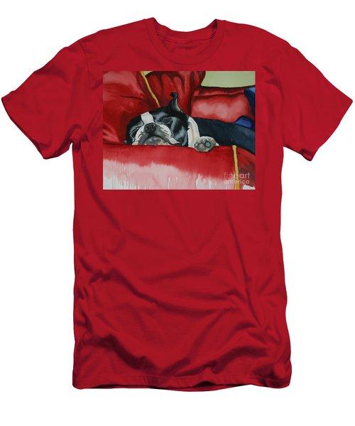 Pillow Pup Men's T-Shirt (Athletic Fit)
