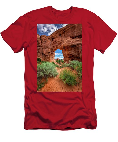 Pinetree Arch Men's T-Shirt (Athletic Fit)
