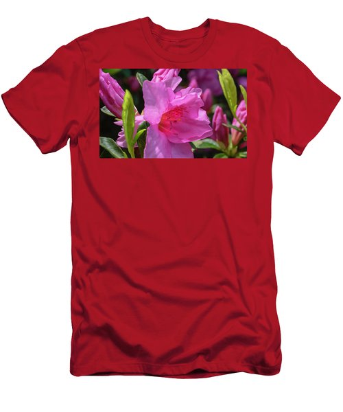Pink Azalea Men's T-Shirt (Athletic Fit)