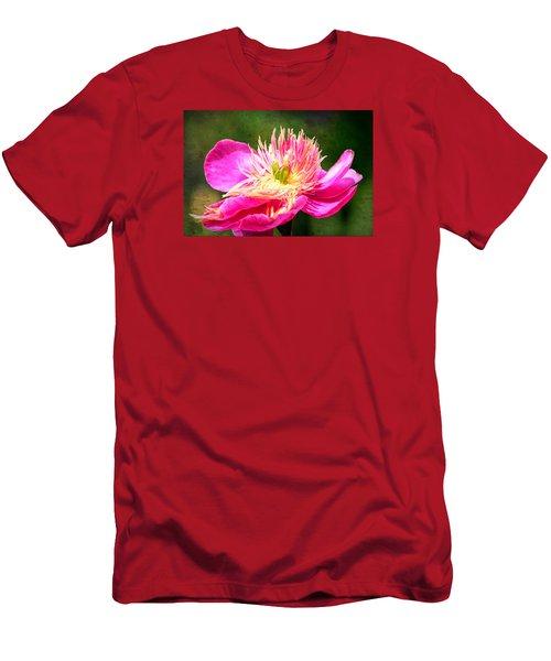 Pink Beauty Men's T-Shirt (Slim Fit) by Bonnie Bruno
