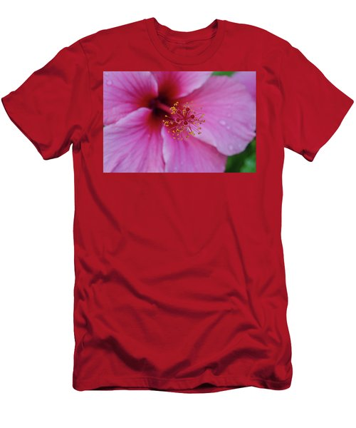 Pink Flower II Men's T-Shirt (Athletic Fit)