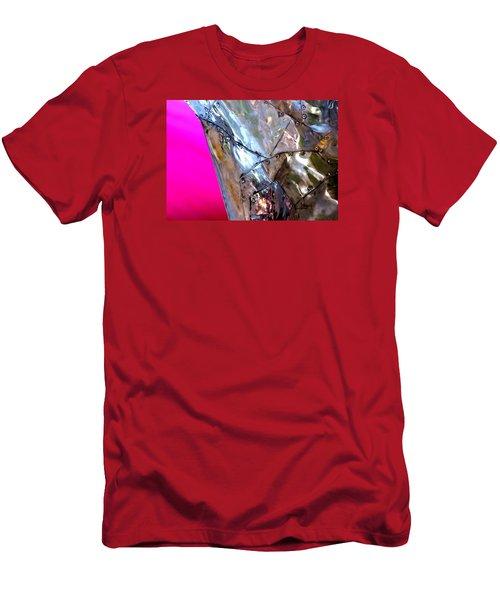 Pink Lustre  Men's T-Shirt (Slim Fit) by Prakash Ghai