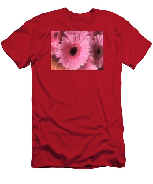 Pink Petals Men's T-Shirt (Athletic Fit)