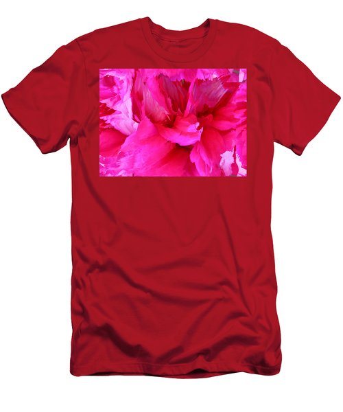 Pink Splash Men's T-Shirt (Athletic Fit)