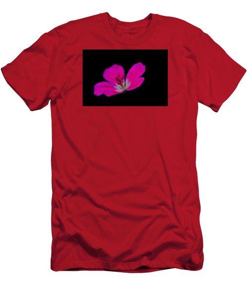Pink Stamen Men's T-Shirt (Slim Fit) by Richard Patmore