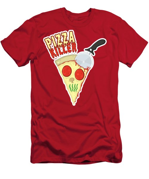 Pizza Killer Men's T-Shirt (Athletic Fit)