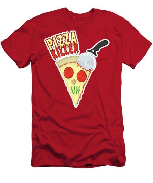 Pizza Killer Men's T-Shirt (Athletic Fit)