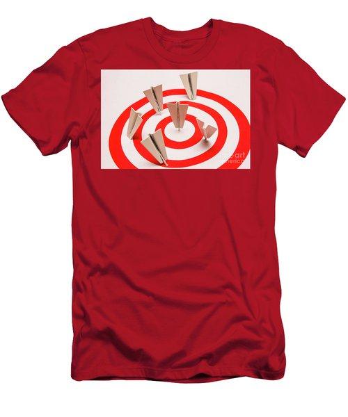 Plane Goal Men's T-Shirt (Athletic Fit)