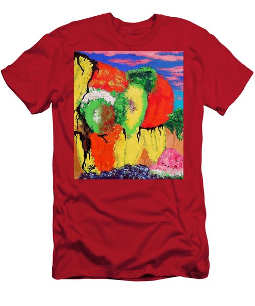 Plant Food Still Life Men's T-Shirt (Slim Fit) by Raymond Perez
