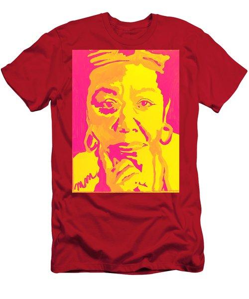 Poetically Speaking  Men's T-Shirt (Slim Fit) by Miriam Moran
