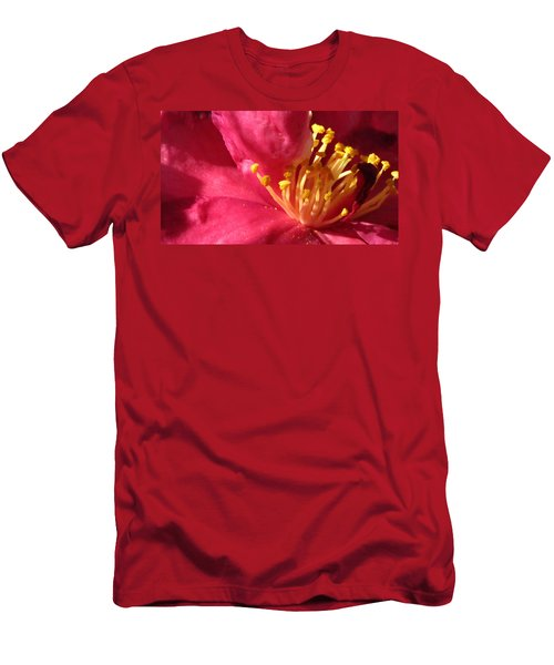 Men's T-Shirt (Athletic Fit) featuring the photograph Pollen Pregnant 2 by Robert Knight
