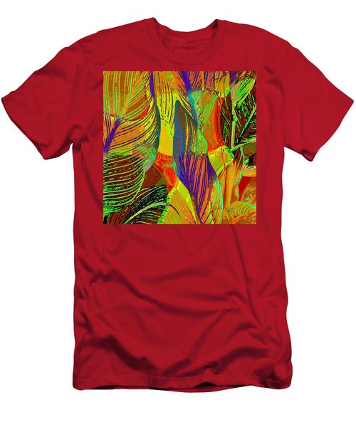 Pop Art Cannas Men's T-Shirt (Athletic Fit)