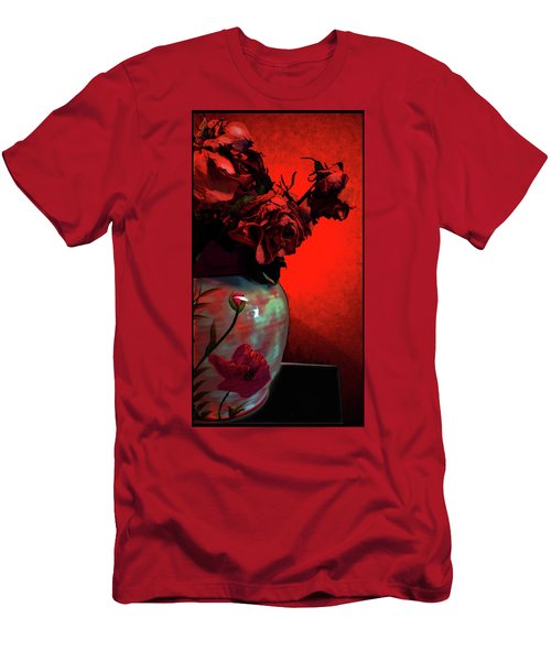 Poppies And Roses Men's T-Shirt (Athletic Fit)