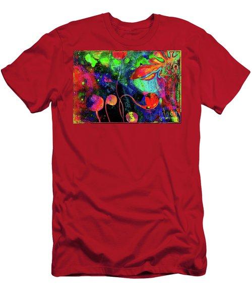 Poppy Enchantment Men's T-Shirt (Athletic Fit)