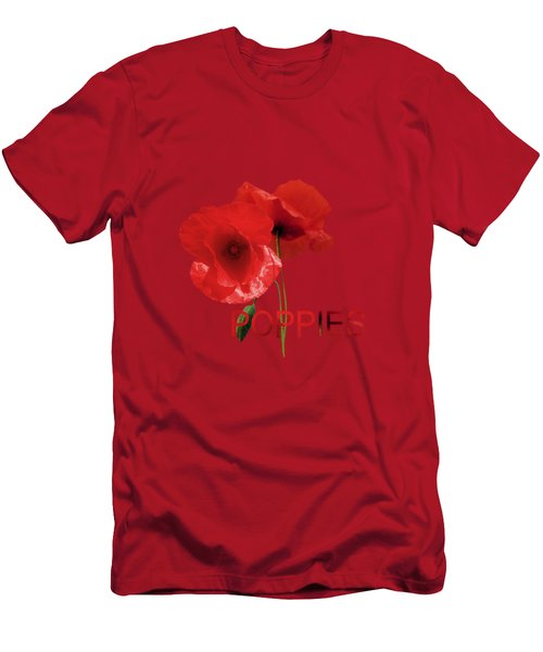 Poppy Reverie Men's T-Shirt (Athletic Fit)