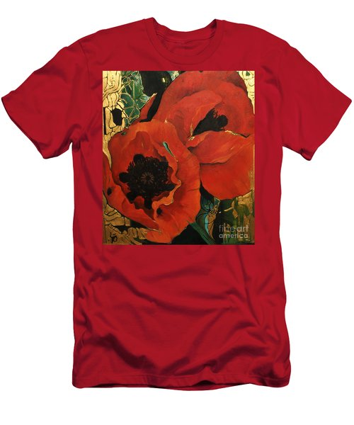 Poppygold Men's T-Shirt (Athletic Fit)
