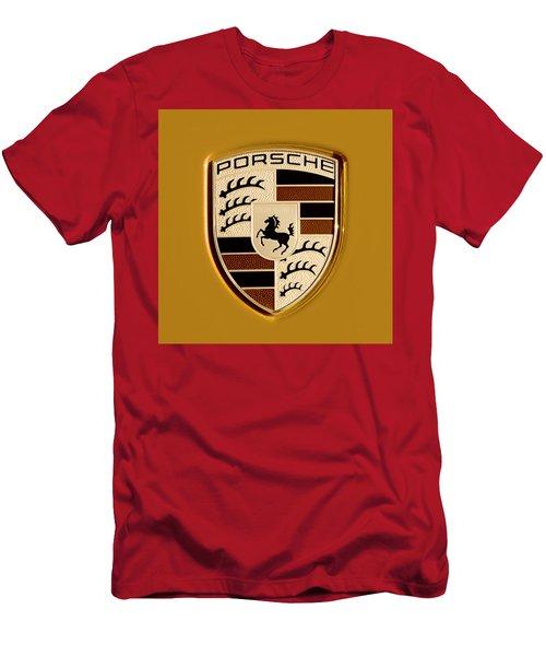 Porsche Oil Paint Filter 121615 Men's T-Shirt (Athletic Fit)