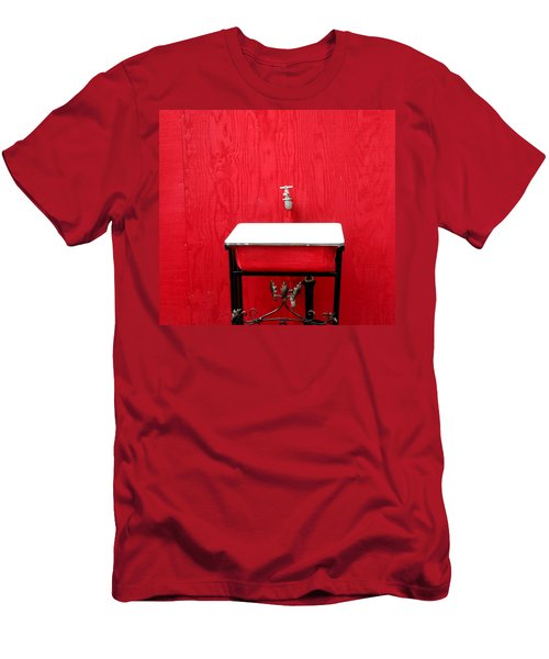 Men's T-Shirt (Slim Fit) featuring the photograph Portal Flow by Marie Neder