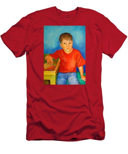 Portrait Andres Men's T-Shirt (Athletic Fit)