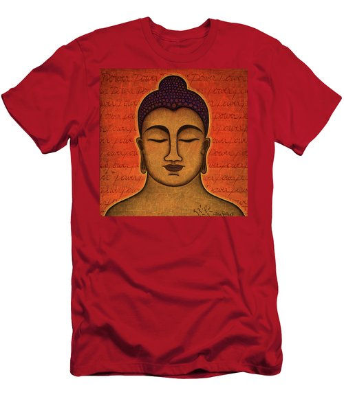 Men's T-Shirt (Slim Fit) featuring the painting Power by Gloria Rothrock