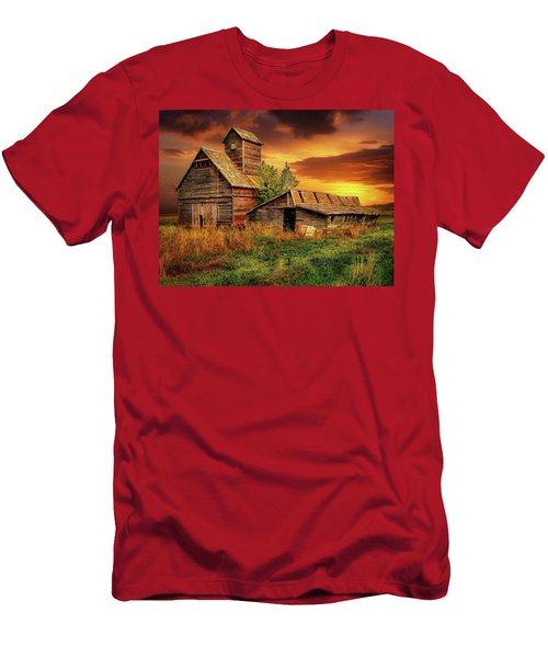 Prairie Barns Men's T-Shirt (Athletic Fit)
