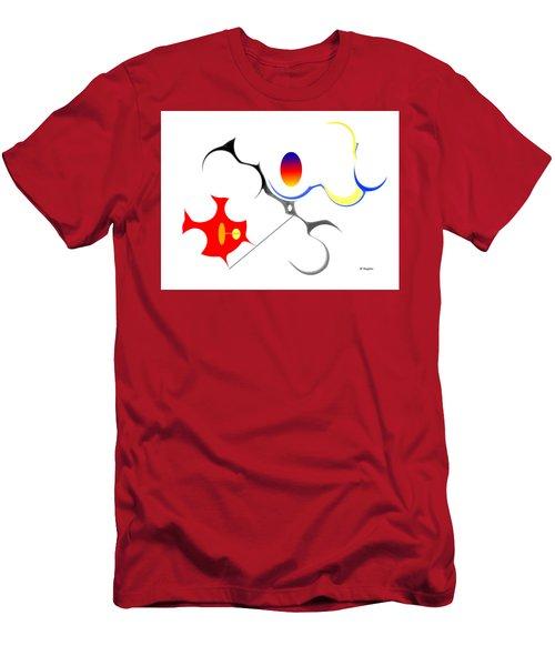 Precarious Study No, 3 Men's T-Shirt (Athletic Fit)