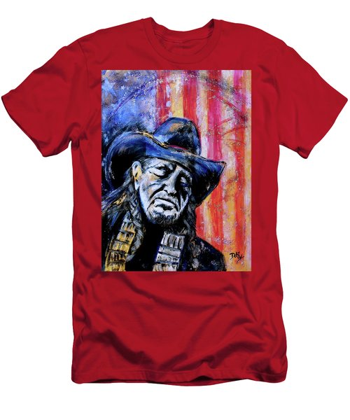 Precious Metals, Willie Americana Men's T-Shirt (Athletic Fit)