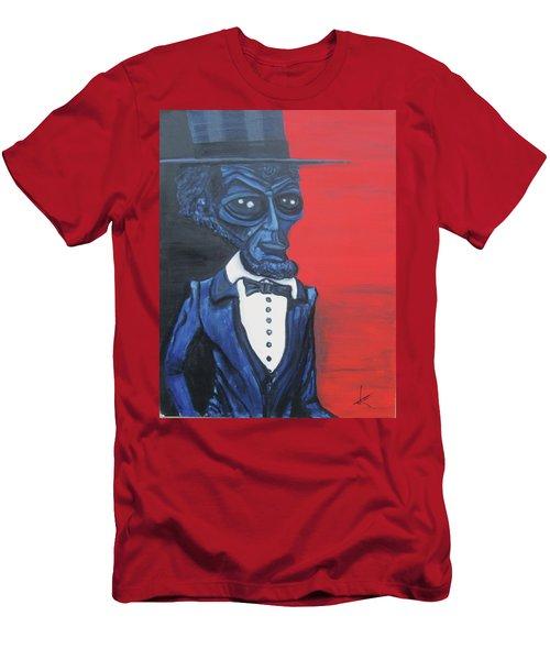 President Alienham Lincoln Men's T-Shirt (Athletic Fit)