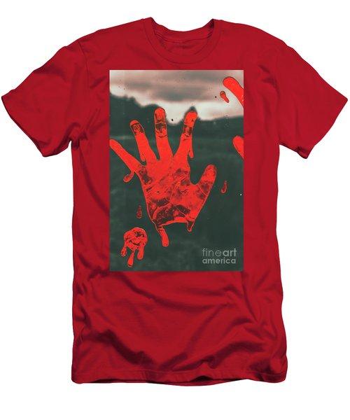 Pressing Terror Men's T-Shirt (Athletic Fit)