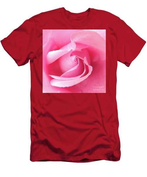 Pretty In Pink Men's T-Shirt (Slim Fit) by Scott Cameron