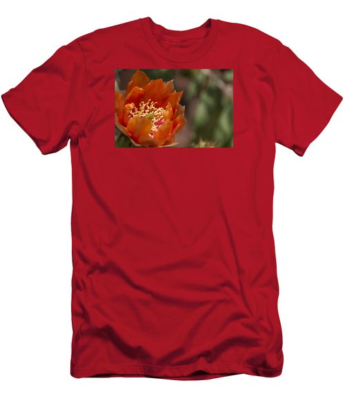 Prickly Pear Bloom Men's T-Shirt (Athletic Fit)