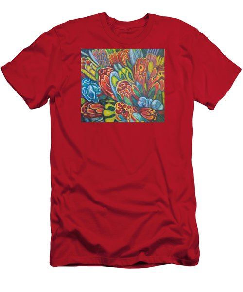 Proteas At Noon 2015 Men's T-Shirt (Athletic Fit)