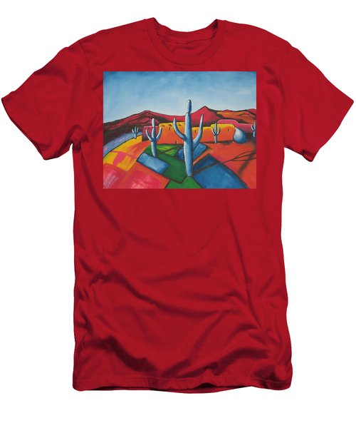 Pueblo Men's T-Shirt (Athletic Fit)