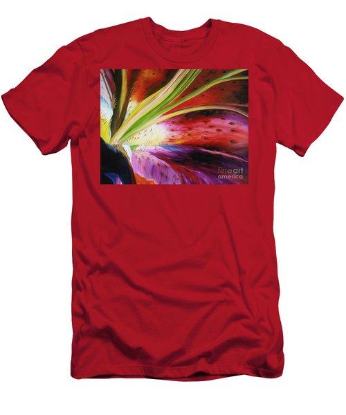 Purple Lily Men's T-Shirt (Athletic Fit)