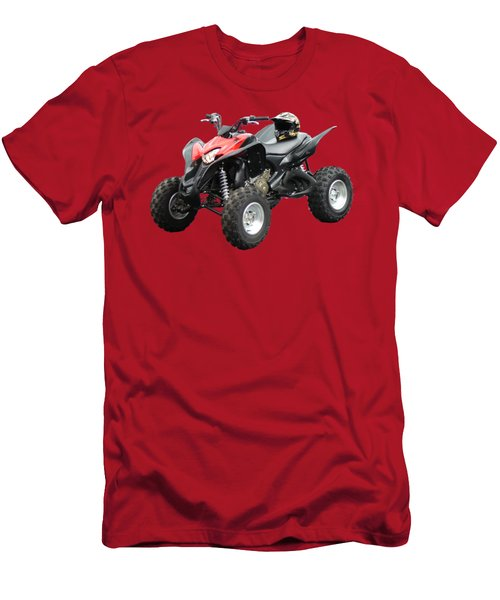 Quad Bike And Helmet Men's T-Shirt (Athletic Fit)
