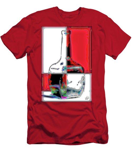 Men's T-Shirt (Slim Fit) featuring the photograph Quad Bottle by Walt Foegelle