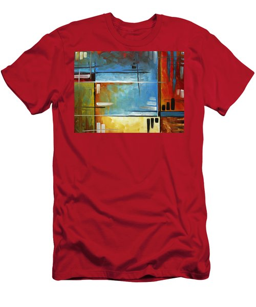 Quiet Whispers By Madart Men's T-Shirt (Athletic Fit)