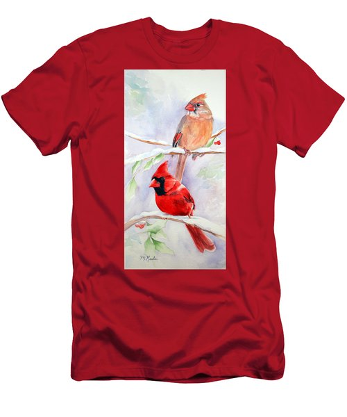 Radiance Of Cardinals Men's T-Shirt (Athletic Fit)