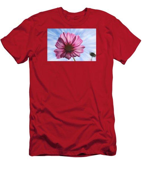 Radiant Cosmos Men's T-Shirt (Slim Fit) by Yumi Johnson