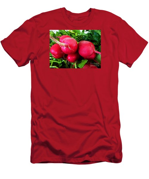 Radish Bottoms Men's T-Shirt (Slim Fit) by Dee Flouton