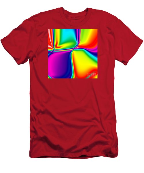 Rainbow Trip Men's T-Shirt (Athletic Fit)