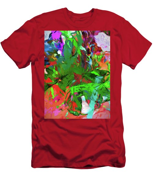 Rainbow Tropic Men's T-Shirt (Athletic Fit)