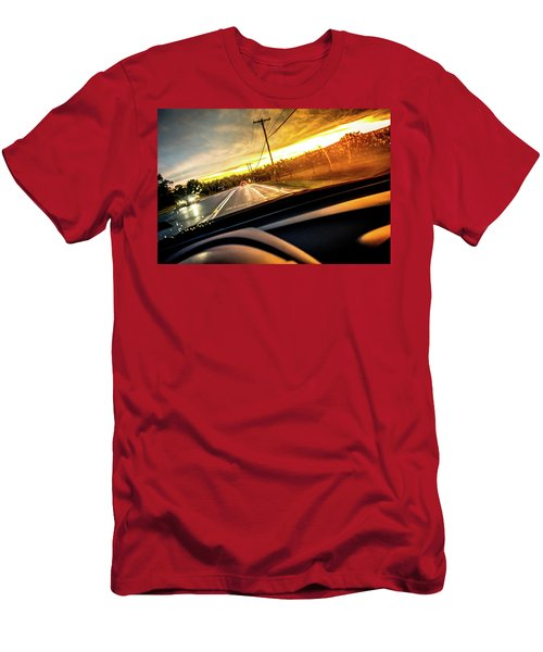 Rainy Day In July II Men's T-Shirt (Athletic Fit)