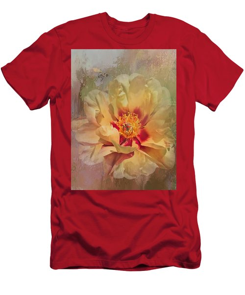 Rayanne's Peony Men's T-Shirt (Slim Fit)