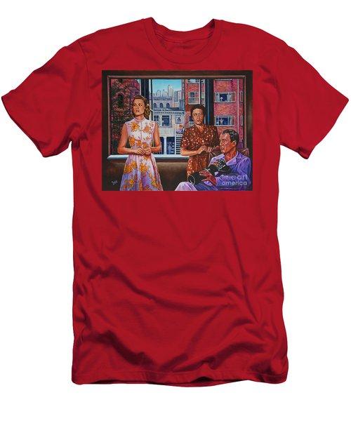 Rear Window Men's T-Shirt (Slim Fit) by Michael Frank