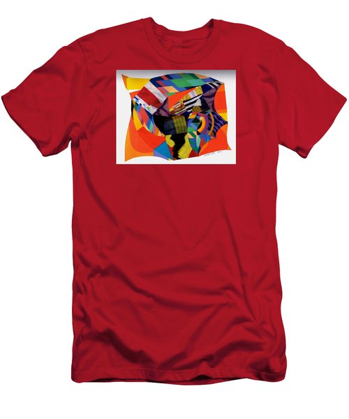 Recycled Art Men's T-Shirt (Slim Fit) by Paul Meinerth